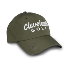 CLEVELAND GOLF BALL MARKER CAP,Grass Green