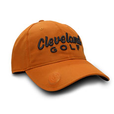 CLEVELAND GOLF BALL MARKER CAP,Orange