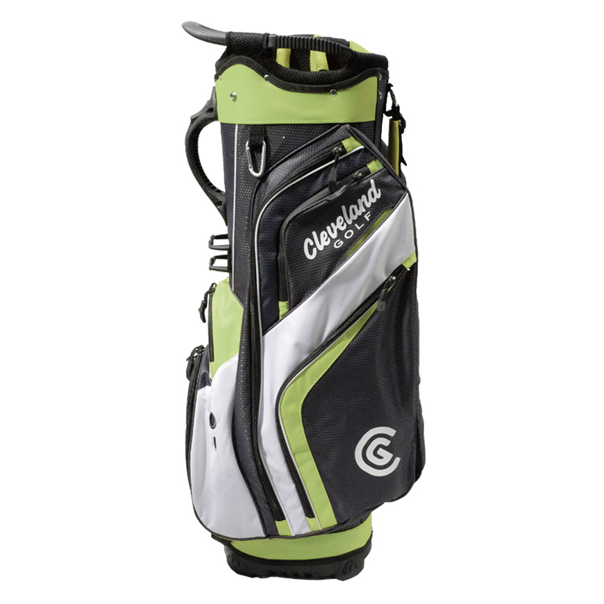 CLEVELAND FRIDAY CART BAG,Charcoal/Lime/White