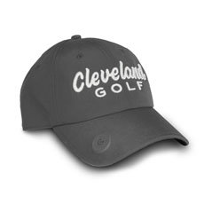 CLEVELAND GOLF BALL MARKER CAP,Charcoal