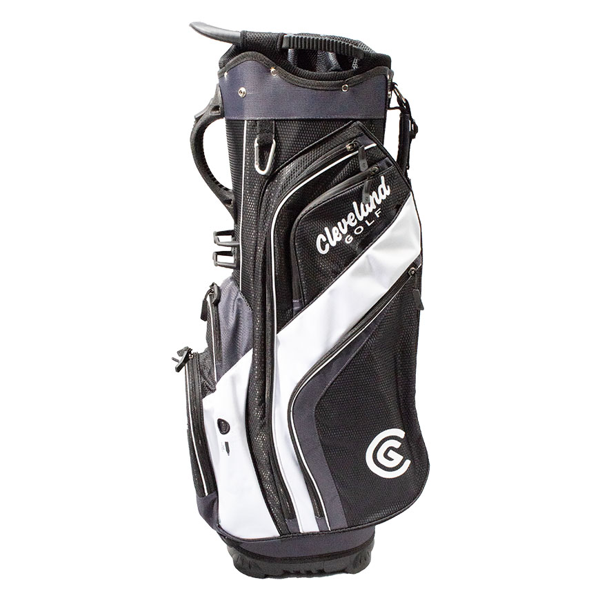 CLEVELAND FRIDAY CART BAG,Black/Charcoal/White
